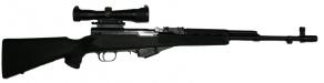 Карабин охотничий СКС кал. 7,62х39 мм (с оптическим прицелом, б/у)
