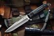Нож туристический Delta Полированный D2, Kizlyar Supreme