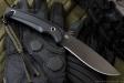 Нож туристический Savage Черный D2, Kizlyar Supreme