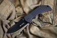Нож туристический Bloke-X Черный AUS8, Kizlyar Supreme