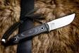 Нож туристический Nikki Полированный D2, Kizlyar Supreme