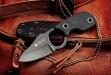 Нож туристический Amigo-X Черный AUS-8, Kizlyar Supreme
