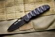 Нож туристический Hero 440C Черный Kizlyar Supreme, Kizlyar Supreme